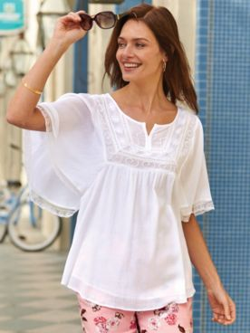 Gauze Morningstar Tunic