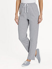 Knit Drawstring Sport Pants