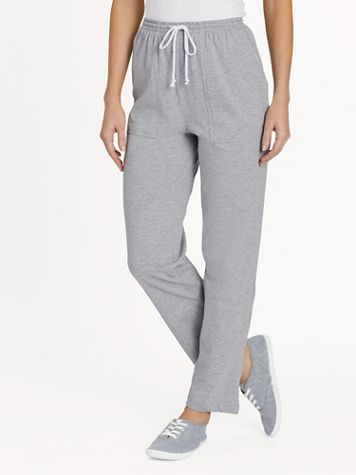 Knit Drawstring Sport Pants  - Image 1 of 12