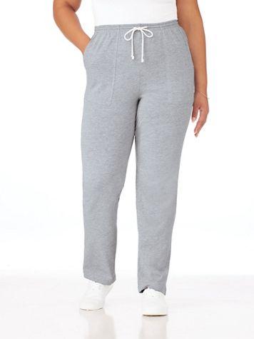 Knit Drawstring Sport Pants  - Image 5 of 11