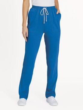 Knit Drawstring Sport Pants