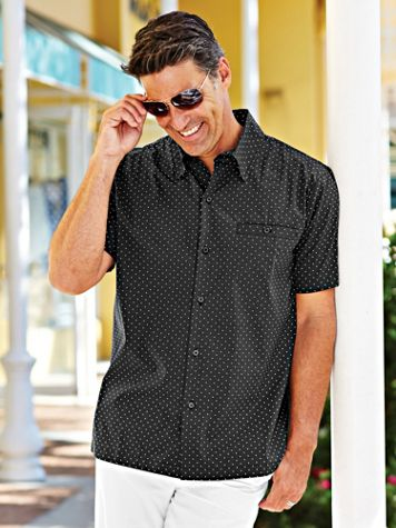 Scandia Woods Pin Dot Sport Shirt - Image 1 of 6