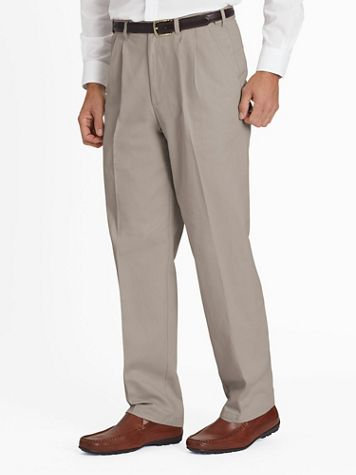 Adjust-A-Band® Wrinkle- and Stain-Resistant Chinos - Image 1 of 8