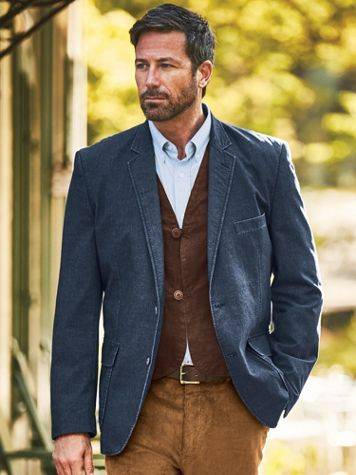 Chautauqua Denim and Twill Sportcoat - Image 5 of 5