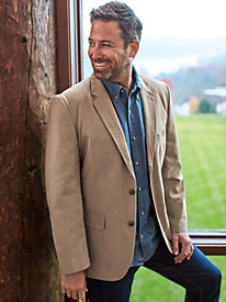Chautauqua Denim and Twill Sportcoat by Blair