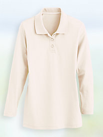 Tunic Polo Top by Blair