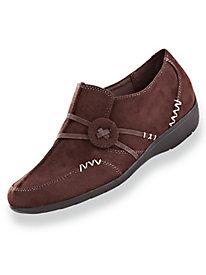 Classique Faux Suede Slip-On Shoes