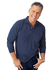 Scandia Woods Long-Sleeve Pique Polos