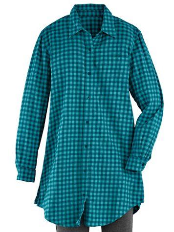 Plaid Flannel Big Shirt
