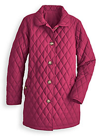 Quilted Car Coat by Blair