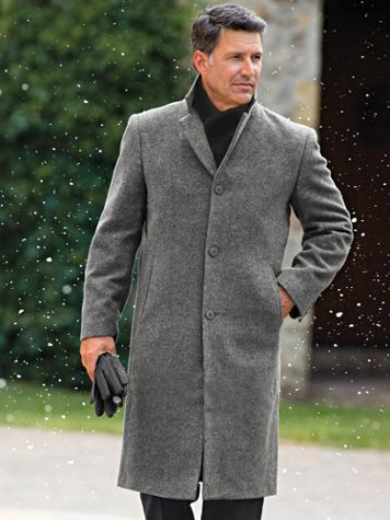 Irvine Park Classic Wool-Blend Topcoat - Image 1 of 3