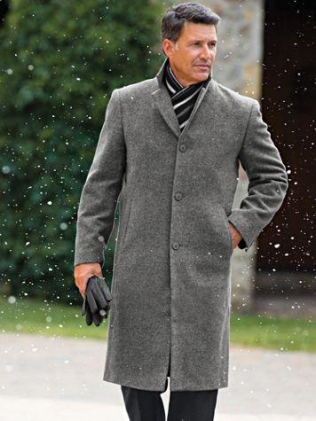 Irvine Park Classic Wool-Blend Topcoat