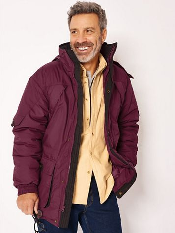 John Blair® Water-Resistant Insulated Parka - Image 1 of 9
