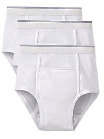 Men's Super-Protective Briefs (3-Pack)