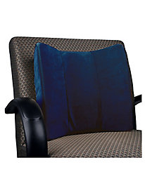 Velour Lumbar Support Cover