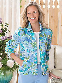 Garden Floral Jacket by Koret