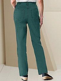 Classic 5-Pocket Colored Straight Leg Jean