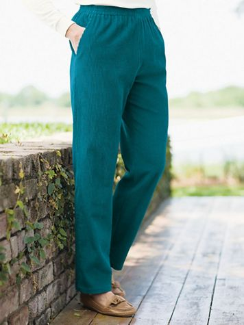 Wide Wale Corduroy Pull-On Pants - Image 1 of 5