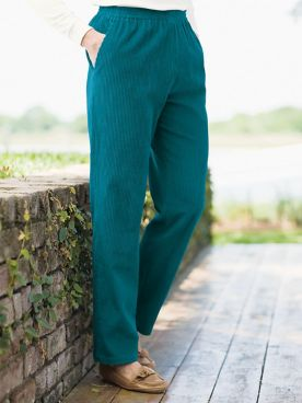 Wide Wale Corduroy Pull-On Pants