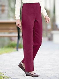 Koret® Suedecloth Pull-On Pants