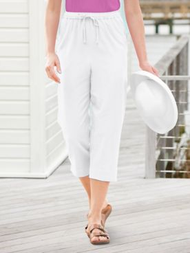 Captiva Cropped Pants