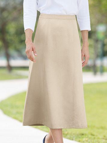 Microfiber 6-Gore Skirt - Image 6 of 6