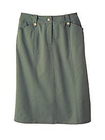Carefree Twill Skirt