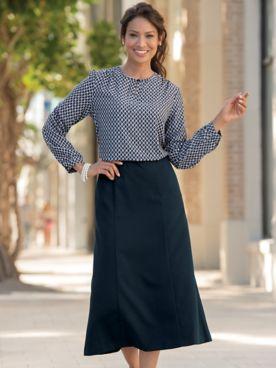 Bi-Stretch Skirt