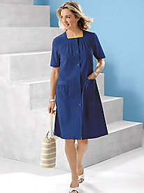 Mojave Button-Front Dress