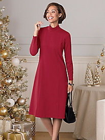 Suprema Knit Mockneck Dress