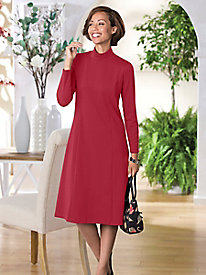 Suprema Knit Mockneck Dress by Tog Shop