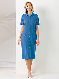 Look-of-Linen Dress by Koret