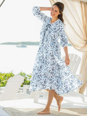 Cotton Lawn Robe ... cc4f8ecf1c