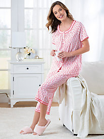 Floral Cotton Lawn Pajamas
