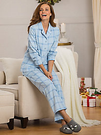 Windowpane Flannel PJs