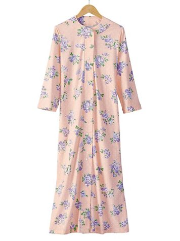 Dotted Floral Robe - Image 1 of 1