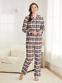 e7acfaf8eb9e Plaid Flannel Pajama Set