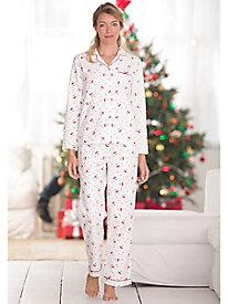 Aria Cotton Flannel Pajama Set