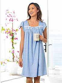 Eileen West Cap Sleeve Short Nightgown 6a0f6d86c
