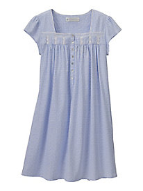 Eileen West Cap Sleeve Short Nightgown