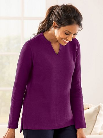 Flat-Back Rib Tunic - Image 1 of 6