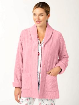Chenille Lounge Jacket