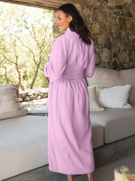 Chenille Lounge Robe