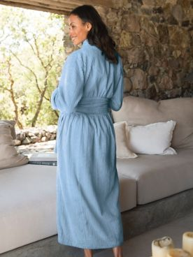 Chenille Lounge Robe
