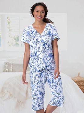 Karen Neuburger® Girlfriend Capri Pajamas