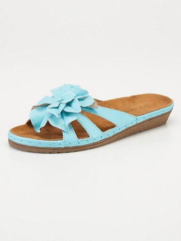 Dahlia Leather Slides - Image 1 of 11
