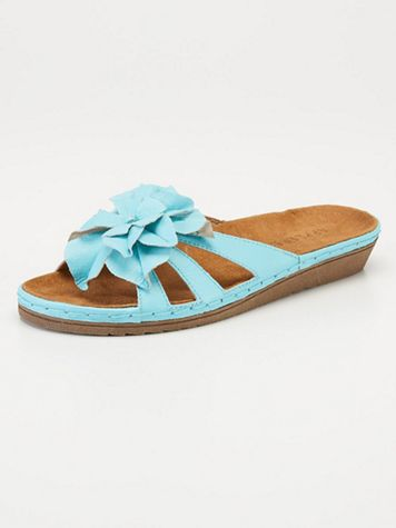 Dahlia Leather Slides - Image 6 of 7