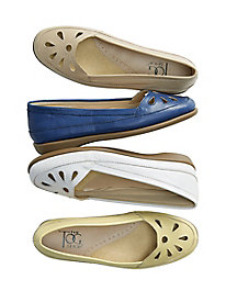 Daisy Leather Flats