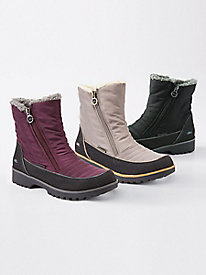 Snow Bird Double Zip Boots