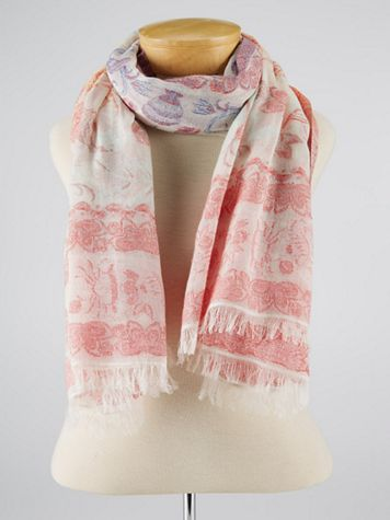 Echo Sea Life Scarf - Image 3 of 3